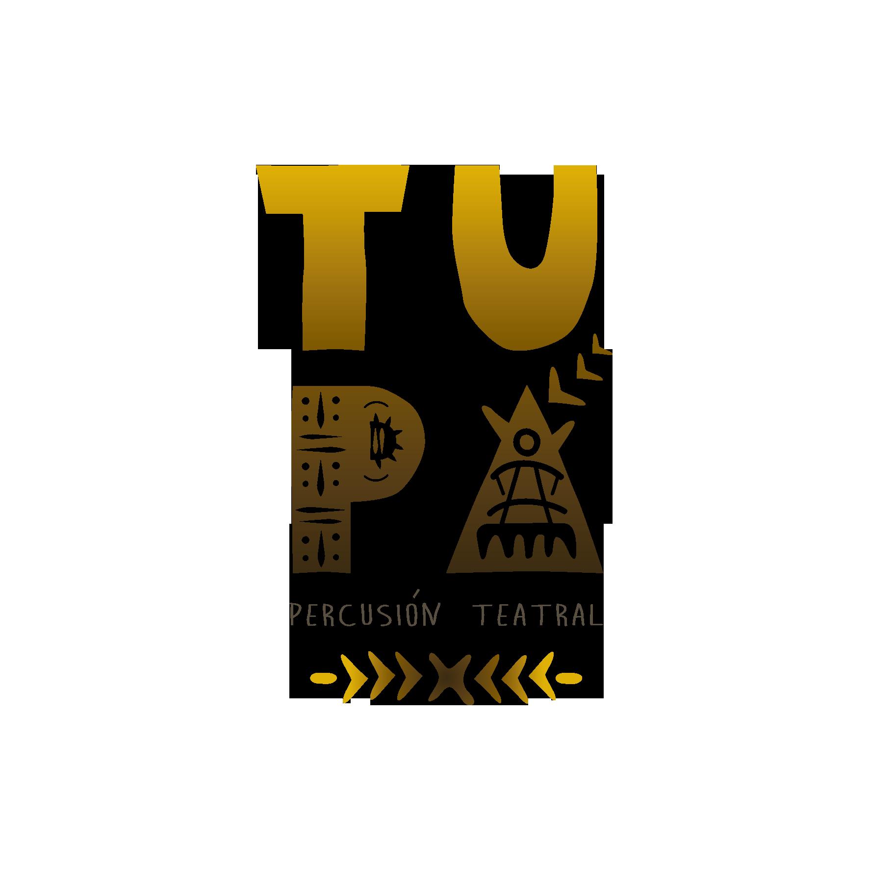 Logo TUPÁ Percusión Teatral